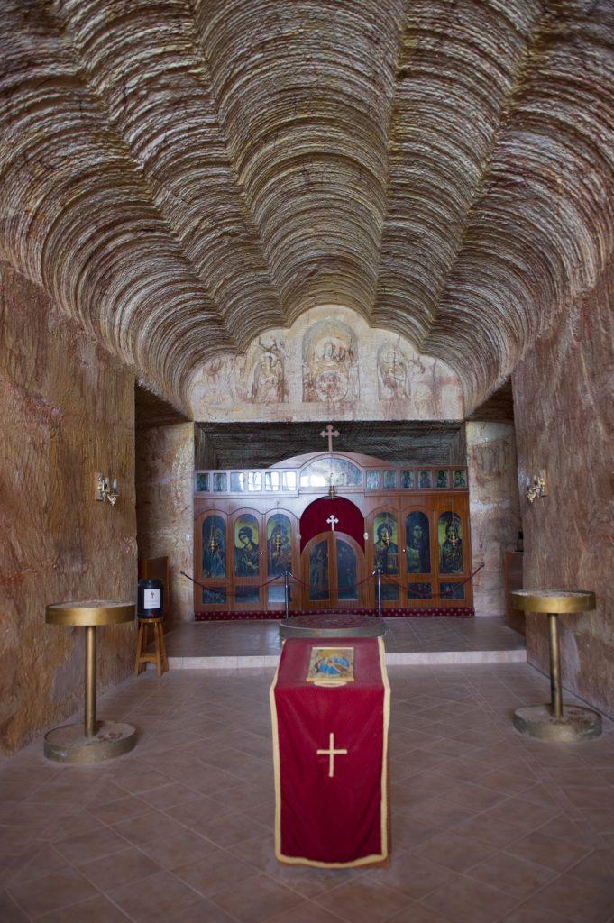 Underground church, Coober Pedy, South Australia, Australia, Pacific