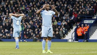 Stoke City's Saido Berahino shows his frustration during the English championship Premier League football match between West Bromwich Albion and Stoke City on February 4, 2017 played at The Hawthorns Stadium in West Bromwich, Great Britain - Photo Matt Bunn / Backpage Images / DPPI