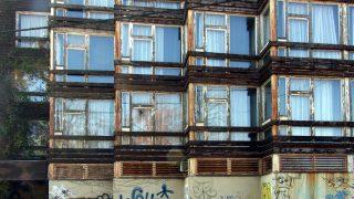 Budapest, 2015. november 5. Az egykori Hotel Olimpia lepusztult, graffitikkel telefirkált lábazatú, ma már nem használt épülete a fõváros XII. kerületében, a Széchenyi-hegyen, a Normafa közelében. MTVA/Bizományosi: Jászai Csaba  *************************** Kedves Felhasználó! Ez a fotó nem a Duna Médiaszolgáltató Zrt./MTI által készített és kiadott fényképfelvétel, így harmadik személy által támasztott bárminemû – különösen szerzõi jogi, szomszédos jogi és személyiségi jogi – igényért a fotó készítõje közvetlenül maga áll helyt, az MTVA felelõssége e körben kizárt.