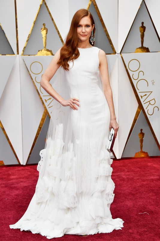 HOLLYWOOD, CA - FEBRUARY 26: Actor Darby Stanchfield attends the 89th Annual Academy Awards at Hollywood & Highland Center on February 26, 2017 in Hollywood, California.   Frazer Harrison/Getty Images/AFP