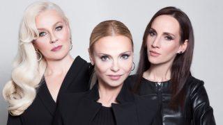 Yvonne Dederick (középen), Szilágyi Adrienne és Kele Eszter társaságában
