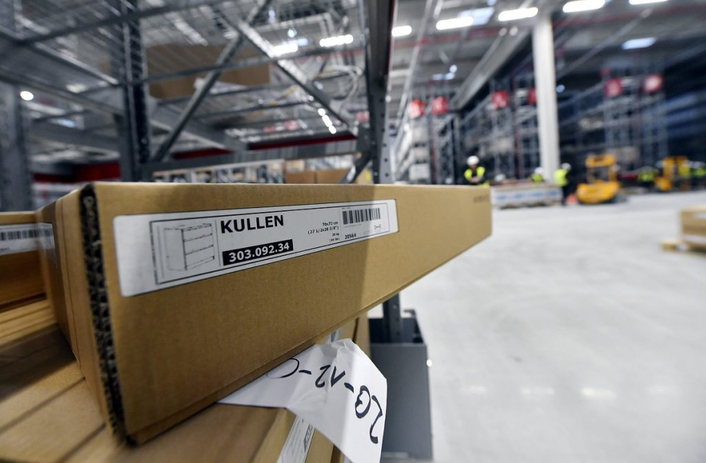 Budapest, 2017. február 15. Az IKEA épülõ soroksári áruházának piactere 2017. február 15-én. A régió legnagyobb IKEA áruháza májusban nyitja meg kapuit, 300 alkalmazottat vesznek fel. MTI Fotó: Illyés Tibor