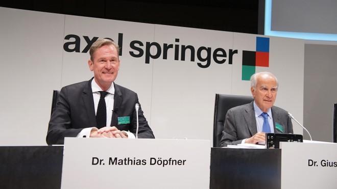 Mathias Döpfner, az Axel Springer vezérigazgatója