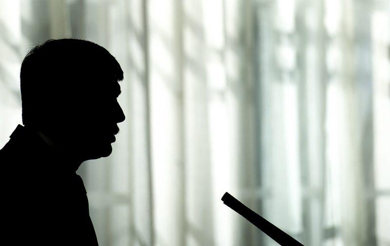 Nagyszalonta, 2017. március 2.Áder János köztársasági elnök beszédet mond az Arany-emlékév rendezvénysorozatának megnyitóján, a Magyar Tudományos Akadémia tudományos konferenciáján a partiumi Nagyszalonta polgármesteri hivatalában Arany János születésének 200. évfordulóján, 2017. március 2-án.MTI Fotó: Czeglédi Zsolt