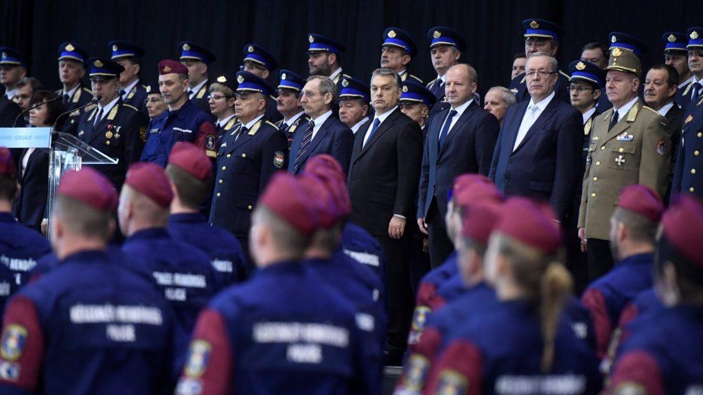 Határvadász tiszthelyettesek eskütétele Budapesten
