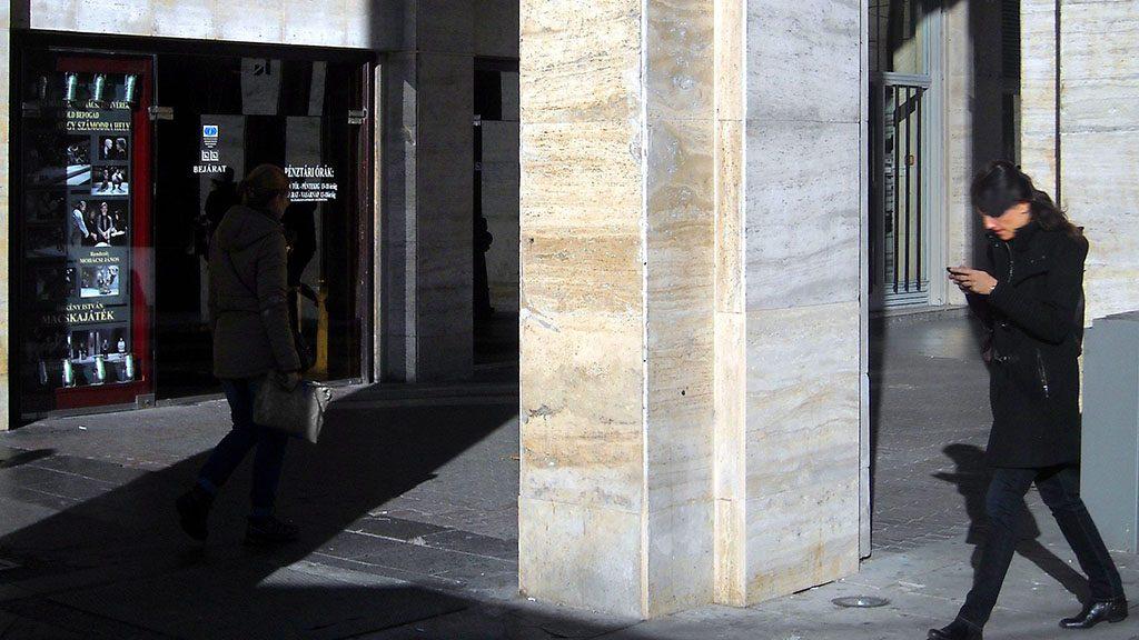 Budapest, 2014. december 26.Az Örkény István Színház főbejárata a főváros VII. kerületében a Madách téren.MTVA/Bizományosi: Jászai Csaba ***************************Kedves Felhasználó!Az Ön által most kiválasztott fénykép nem képezi az MTI fotókiadásának, valamint az MTVA fotóarchívumának szerves részét. A kép tartalmáért és a szövegért a fotó készítője vállalja a felelősséget.