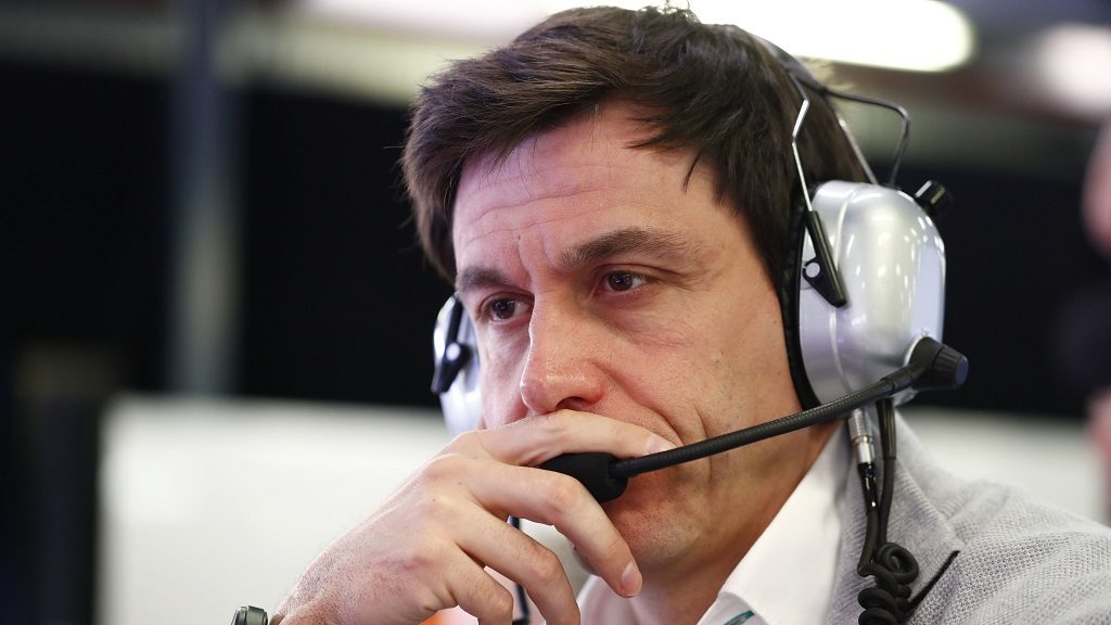 Motorsports: FIA Formula One World Championship 2017, Grand Prix of Australia,  Toto Wolff (AUT, Mercedes AMG Petronas Formula One Team),