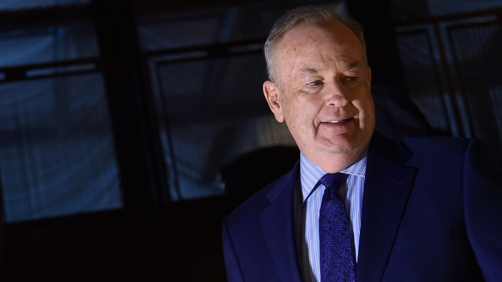 NEW YORK, NEW YORK - APRIL 06: Television host Bill O'Reilly attends the Hollywood Reporter's 2016 35 Most Powerful People in Media at Four Seasons Restaurant on April 6, 2016 in New York City.   Ilya S. Savenok/Getty Images/AFP