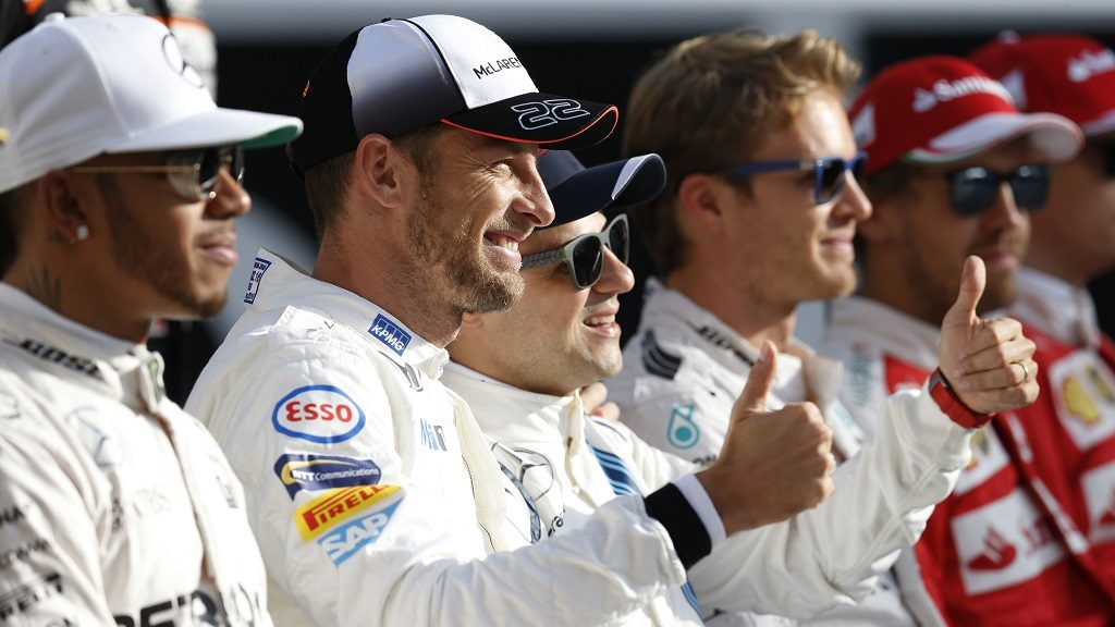Motorsports: FIA Formula One World Championship 2016, Grand Prix of Abu Dhabi,  #22 Jenson Button (GBR, McLaren Honda Formula 1 Team),