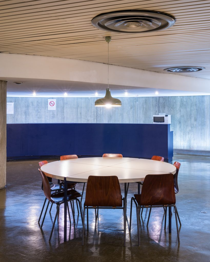 siège du parti communiste Français - Oscar Niemeyer. © Photo by François Cavelier