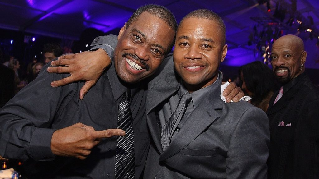 NEW YORK - OCTOBER 19:  Cuba Gooding Sr. and actor Cuba Gooding Jr.attend the after-party of the world premiere of American Gangster at the Apollo Theater on October 19, 2007 in New York City.  (Photo by Stephen Lovekin/Getty Images for Universal Pictures)  (Photo by Stephen Lovekin/Getty Images)