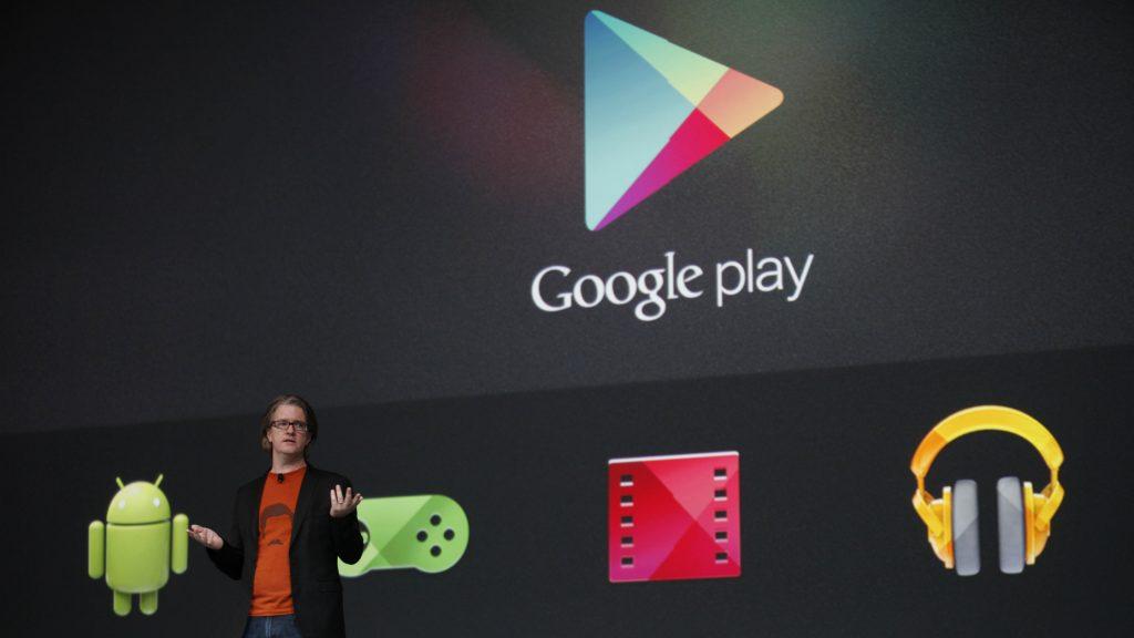 11e0db1b55 Új külsőt kapott a Google Play appbolt | 24.hu