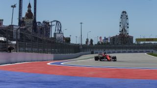 Motorsports: FIA Formula One World Championship 2017, Grand Prix of Russia,  #5 Sebastian Vettel (GER, Scuderia Ferrari)