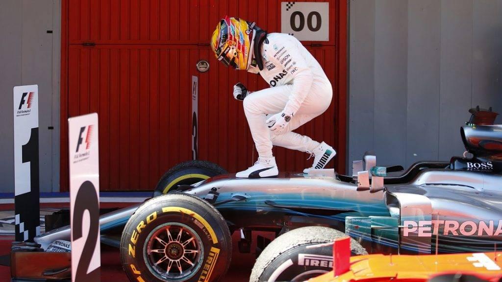 Motorsports: FIA Formula One World Championship 2017, Grand Prix of Spain,  #44 Lewis Hamilton (GBR, Mercedes AMG Petronas F1 Team), 14.05.2017. | usage worldwide