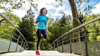 Jogging.  Paris, France   GARO/PHANIE
