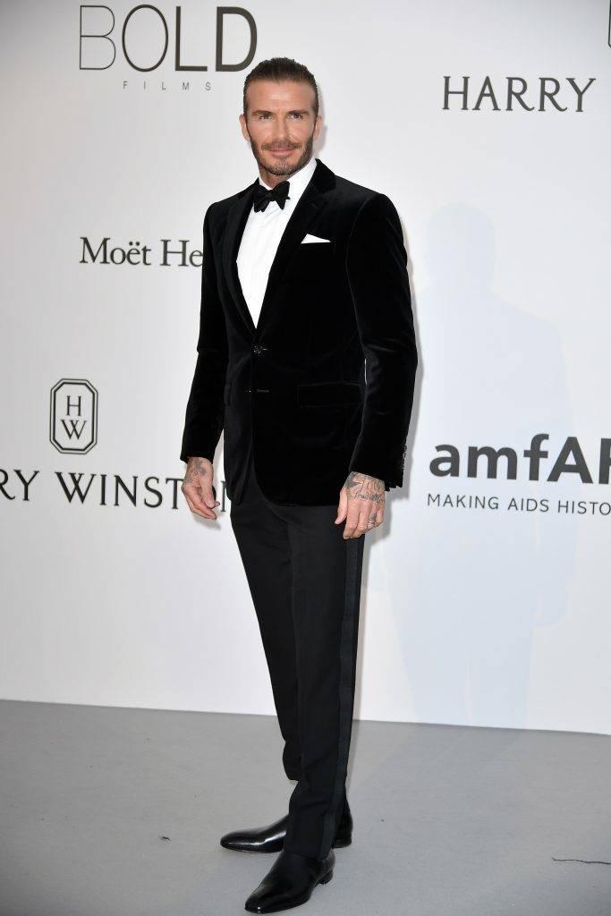 CAP D'ANTIBES, FRANCE - MAY 26: David Beckham attends the Amfar Gala at Hotel du Cap-Eden-Roc in Cap d'Antibes, France on May 26, 2017.  Philip Rock / Anadolu Agency