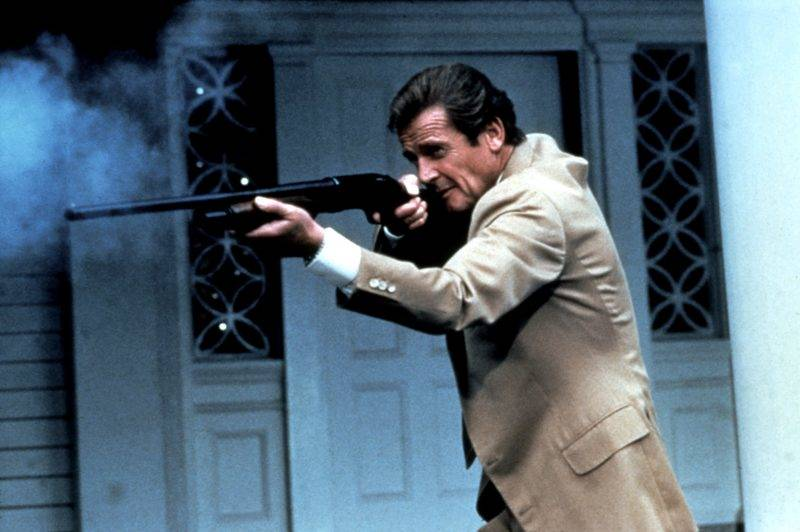 Dangereusement votre A view to a Kill 1985 Real  John Glen Roger Moore. COLLECTION CHRISTOPHEL © Eon Productions