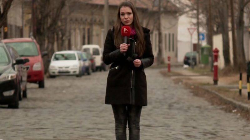 Cser Anna Panni, a TV2 Tények távozó riportere
