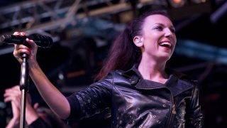 Torockó, 2016. június 12. Rúzsa Magdi énekes a III. Duna-napon, az erdélyi Torockón 2016. június 11-én. MTI Fotó: Koszticsák Szilárd