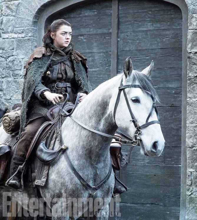 Game of ThronesTKSeason 7, Episode TKAir Date: TKMaisie Williams as Arya Stark