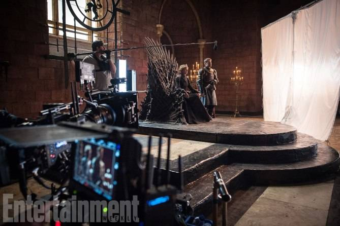 Game of ThronesBehind the ScenesSeason 7, Episode TKL-R: Lena Headey as Cersei Lannister and Nikolaj Coster-Waldau as Jaime Lannister