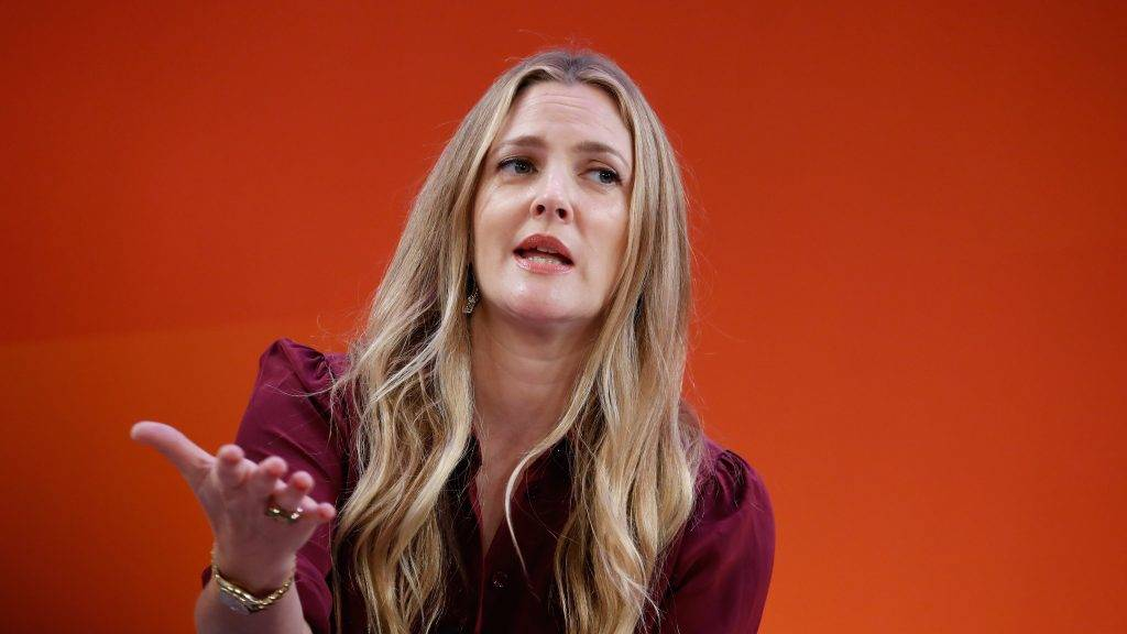 NEW YORK, NY - SEPTEMBER 27:  Drew Barrymore speaks onstage during the Building a Brand in a Mobile-First World panel on the Times Center Stage during 2016 Advertising Week New York on September 27, 2016 in New York City.  (Photo by John Lamparski/Getty Images for Advertising Week New York)