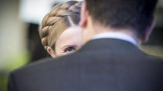 Yulia Tymoshenko  Ukraine opposition leader former Prime Minister  during first day of  EPP European People Party in Madrit, Spainon 21.10.2015 by Wiktor Dabkowski