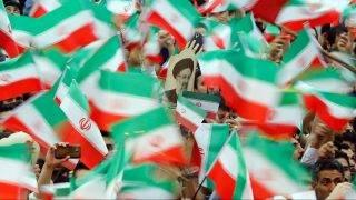 Teherán, 2017. május 16.Ebrahím Raiszi iráni bíró és vallási vezető, keményvonalas elnökjelölt teheráni választási kampánygyűlése három nappal az iráni elnökválasztás előtt, 2017. május 16-án. (MTI/EPA/Abedin Taherkenareh)