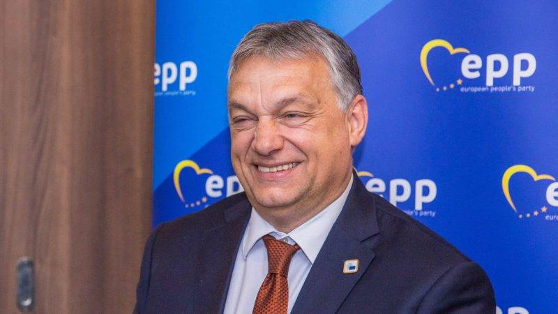 EPP-csúcs - Orbán Viktor