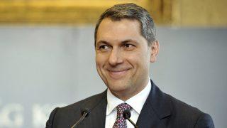 Budapest, 2017. február 23.Lázár János, a Miniszterelnökséget vezető miniszter szokásos heti sajtótájékoztatóját tartja az Országházban 2017. február 23-án.MTI Fotó: Kovács Attila