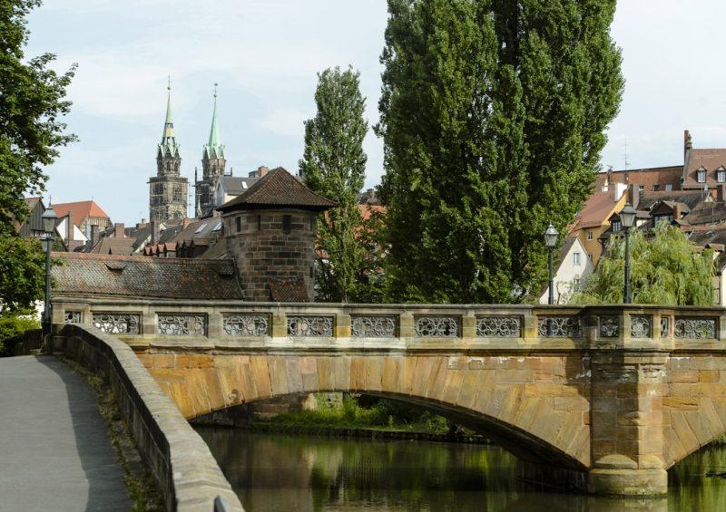 Altstadt Nürnberg - Maxbrücke