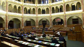 Budapest, 2017. április 24.Az Országgyűlés plenáris ülése 2017. április 24-én.MTI Fotó: Bruzák Noémi