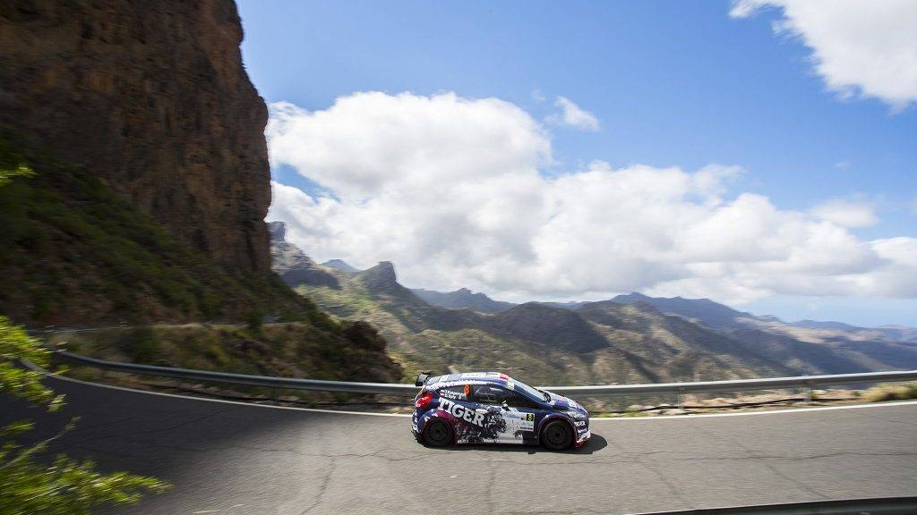 08 KASPERCZYK Tomasz (POL), SYTY Damian (POL), Ford Fiesta R5 Action during the 2017 European Rally Championship ERC Rally Islas Canarias, El Corte Inglés, from May 4 to 6, at Las Palmas, Spain - Photo Gregory Lenormand / DPPI