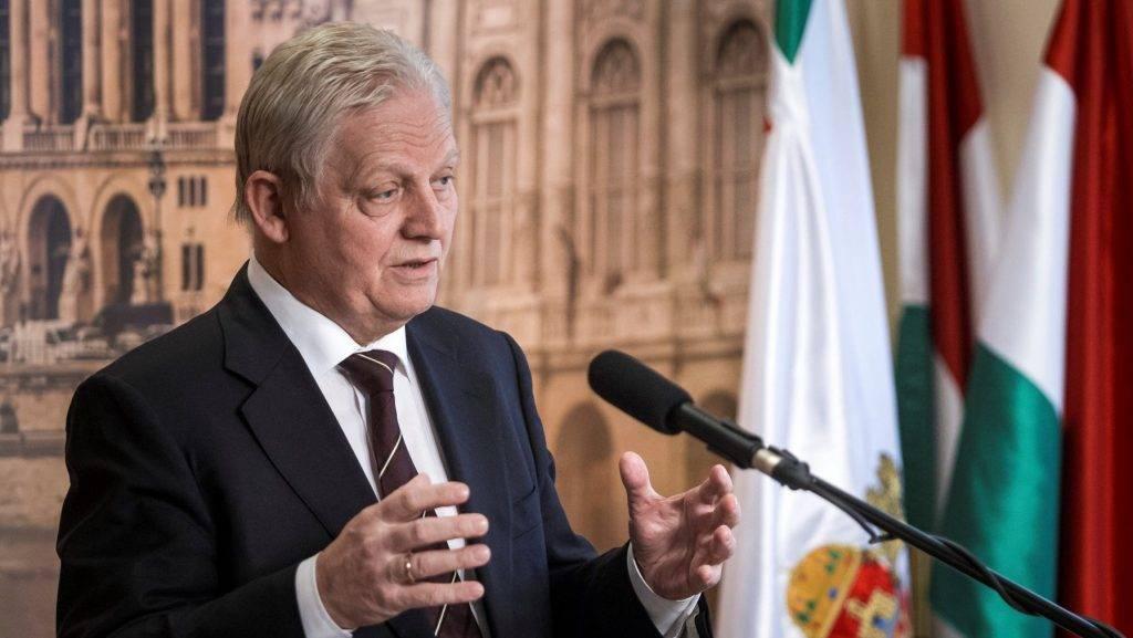 Tarlós István sajtótájékoztatója a Városházán
