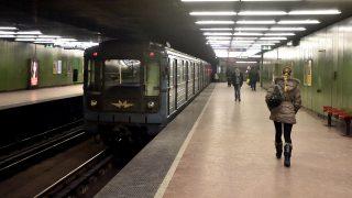 Budapest, 2017. január 10.A 3-as metróvonal Népliget állomása 2017. január 10-én.MTI Fotó: Máthé Zoltán