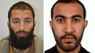 London, 2017. június 5. A londoni rendõrség által 2017. június 5-én közreadott kép Khuram Shazad Buttról (b) és Rachid Redouane-ról. A rendõrség kettejüket megnevezte a három terrorista közül, akik június 3-án éjjel Londonban egy furgonnal gyalogosok közé hajtottak a London Bridge-en, majd a közeli piac, a Borough Market környékén késsel támadtak a járókelõkre. Hét ember életét vesztette, negyvennyolc megsebesült. (MTI/EPA/Londoni rendõrség)
