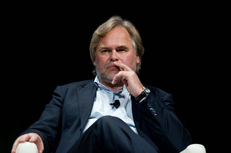 """Eugene Kaspersky, CEO of Kaspersky Lab, takes part in a conversation entitled """"How Cyber-Weapons Impact Global IT Security"""" speak at the 2013 Government Cyersecurity Forum in Washington,DC on June 4, 2013.   AFP PHOTO/Nicholas KAMM / AFP PHOTO / NICHOLAS KAMM"""