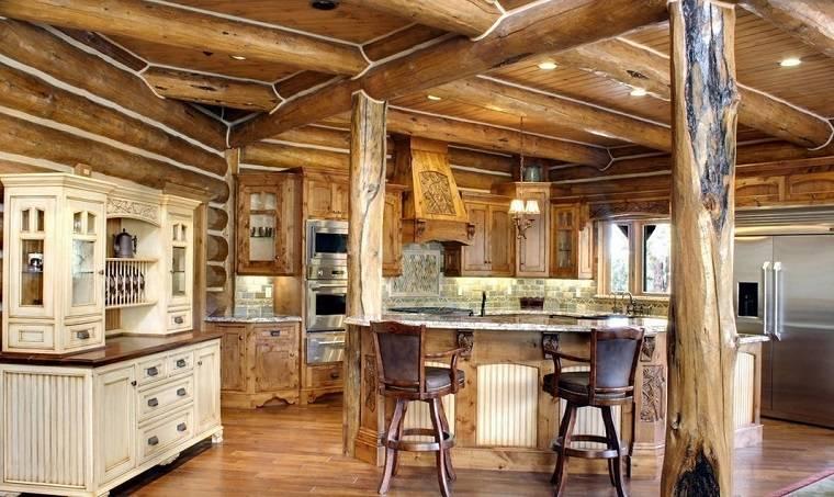 Ez rt rezz k j l magunkat a vid ki st lus otthonokban for Progetti cucine in muratura rustiche