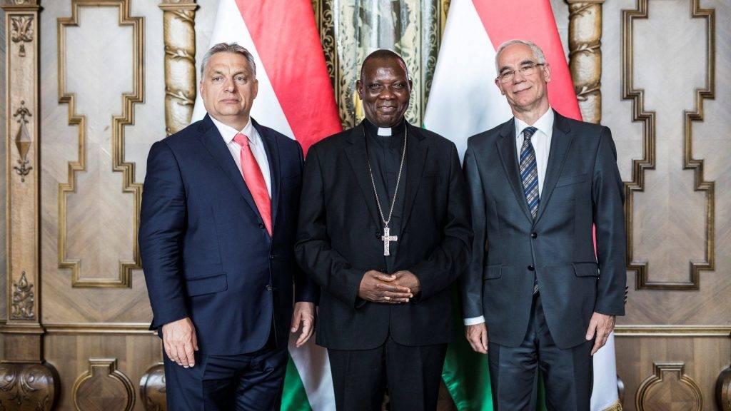 Orbán Viktor fogadta a maiduguri püspököt