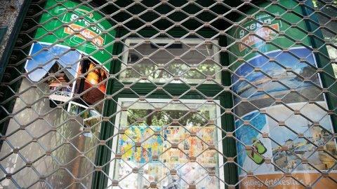 Budapest, 2017. július 3.A fizetésképtelenné vált Green Holidays utazási iroda székhelye a fővárosi Veres Pálné utcában 2017. július 3-án.MTI Fotó: Balogh Zoltán