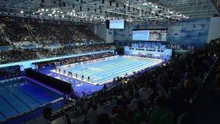 Budapest, 2017. július 24.Úszóverseny a 17. vizes világbajnokságon a Duna Arénában 2017. július 24-én.MTI Fotó: Máthé Zoltán