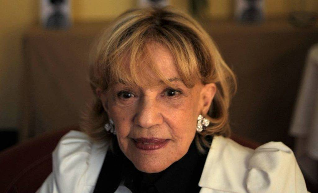 (FILES) This file photograph taken on May 17, 2008, shows French actress Jeanne Moreau as she poses during a photocall at the 61st Cannes International Film Festival in Cannes, southern France.  French actress Jeanne Moreau has died aged 89 on July 31, 2017. / AFP PHOTO / FRED DUFOUR