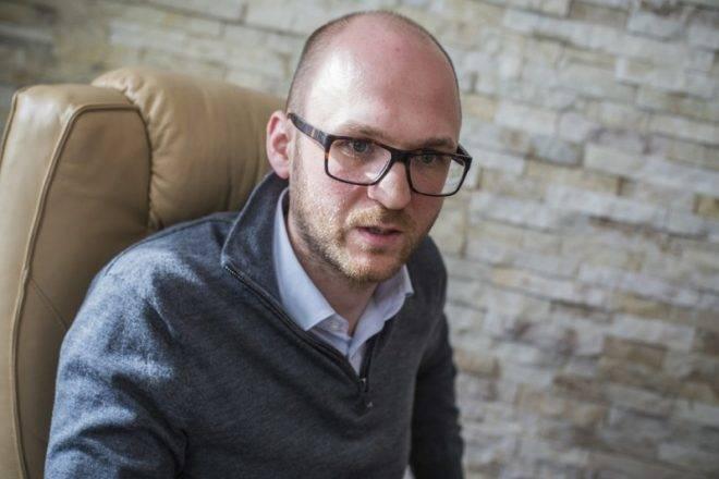 Németh S. Szilárd, ATV vezérigazgató-helyettes. Fotó: Pál Anna Viktória, 24.hu (archív)