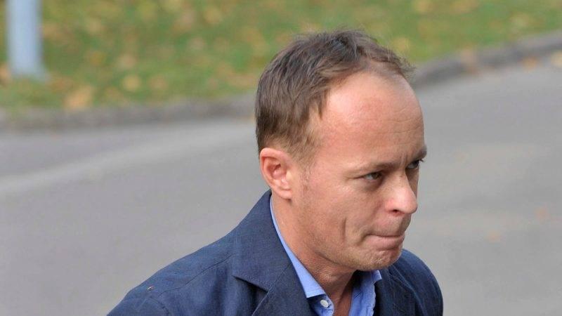 Szombathy Pál 2008 októberében. fotó MTI Fotó: Beliczay László