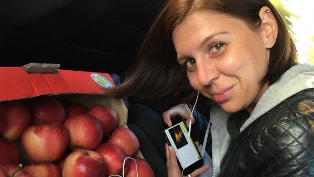 Oroszi Babett, a HírTV Célpont leendő riportere
