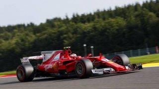 RAIKKONEN Kimi (fin) Ferrari SF70-H team scuderia Ferrari, action during the 2017 Formula One World Championship, Belgium Grand Prix from August 25 to 27 in Spa -Francorchamps, Belgium - Photo DPPI