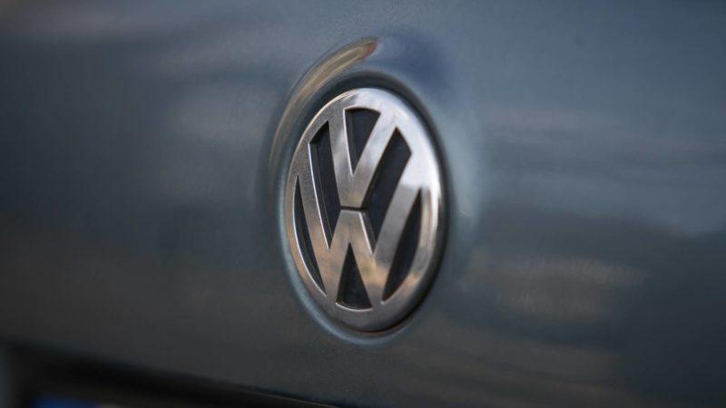 Volkswagen logos are seen on a Volkswagen Passat car on 19 August, 2017. (Photo by Jaap Arriens/NurPhoto)