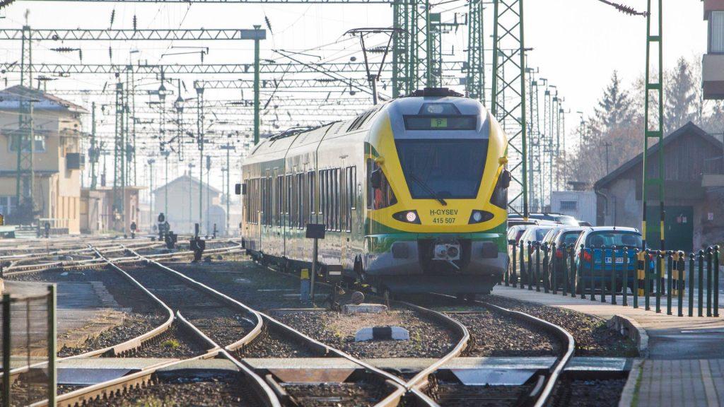 Befejeződött a Szombathely-Zalaszentiván vasútvonal korszerűsítése