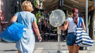 Hőség - Budapest
