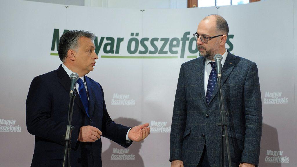 Romániai választások - Orbán Viktor Szatmárnémetiben